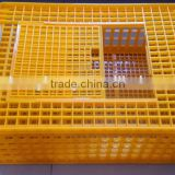 Agricultural plastic crates for chicken transportation ,live chicken transport crate basket /great quality cage