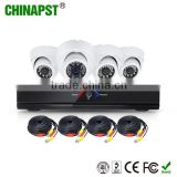 New CE ROHS Certificated 4ch cctv dvr kit 4CH HD 1.0MP 720P AHD CCTV Cameras+AHR Kit PST-AHDK04AL