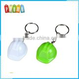 Popular Promotional Bottle Cap Safety Helmet Keychain