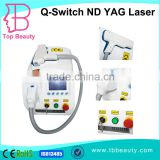 532nm Best Way To Remove Tattoo/nd Freckles Removal Yag Laser Tattoo Removal Machine Varicose Veins Treatment