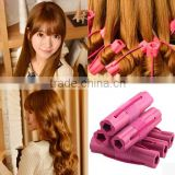 Wherever Make Hair Styling Plastic Sponge Magic Wand Hair Curler