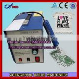 2014 Most popular Apparel & Textile Machinery Ultrasonic portable rhinestone fix machine