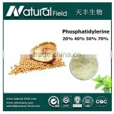 Ture Manufacturer since 2005 top sale soybean extract nutraceuticals phosphatidyl serine