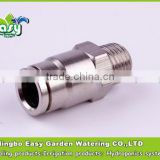 "Quick Coupling connector 3/8"". Male thread +quick slip lock connector . for mist cooling system"