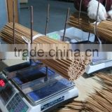 Carbonized split bamboo sticks stakes for flower nursery support