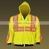 Reflective safety straps vest