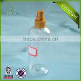 plastic screw fine mist spray mister micro sprayer with 50ml 100ml 150ml PET PP spray pump bottle