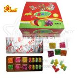 6 Pcs of Sugus and 8 Pcs of Bubble Gum Candy