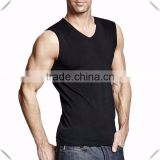 China Clothing Factory Vest With Wholesale Price Different Color V-neck Men's Tank Top Slim Fit Quick Dry Men's fitness Tank Top