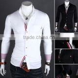 Wholesale walson wholesale mens white dress shirts,latest style men's dress shirt,men shirt embroidery design apparel