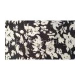 Cotton Plain Dyed Interlock Double Knit Fabric Garment Textile with Flower Partterned