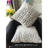 Wholesale Bottom Printed Faux Fur Fleece Brushed Backrest Cushion Pillow