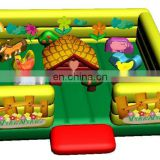 2011 hot farm inflatable fun city, inflatable fun park, entertainment playground