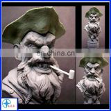 Polyresin pirate statue decoration