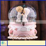 Cartoon Resin lover Crystal ball Music Box - Gifts for valentine's day