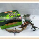 Kids plastic educational toy dinosaur