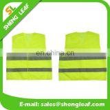 Fluorescent Yellow/Orangeled Polyester safetyvest