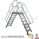 China Factory Aluminum Industrial Work Platform Bridging Ladder