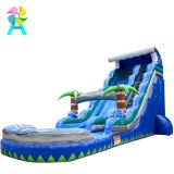 Inflatable slip and slide inflatable water slide axs-15