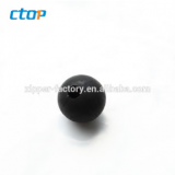 Black color accessory small delicate cute popular plastic ball wholesale plastic ball for handbag clothing