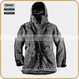 3LAYER LAMINATED OUTDOOR FUNCTIONAL plain windbreaker jacket