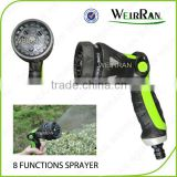 (84335) Gardening revolvable pistol cleaning sprayer, metal garden hose end nozzle