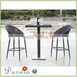 tall outdoor furniture indonesian outdoor furniture outdoor rattan bar table set                                                                         Quality Choice