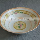 stone flower bowl, cheap porcelain bowl, vietnam bowl