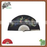 Chinese Traditional Dragon and Phoenix Kung Fu Tai chi metal Fan