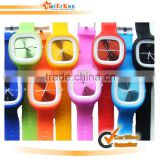 2014 new promotional silicone wrist watch