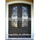 High Quality Wrought Iron Entry door