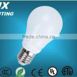 CRI>85 7W /9W LED glass and ceramic bulb with high efficacy &2 years warranty trade assurance supplier