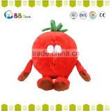 2015 new haigh quality animal toys Cute vegetables and fruits toys,stuffed vegetable plush toy for Kids