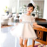 2016 fashion off shoulder straps lace baby girl princess puffy dresses girls tulle princess dress