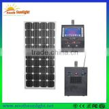 50W new type portable solar power system with video, solar electricity generating system for home, solar energy system price