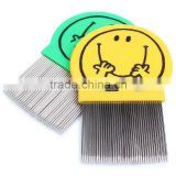 New Pet Dog Cat Clean Comb Stainless Steel Needle Nit Lice Comb Pet Brush Flea Comb Grooming Tool