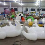 Most popular inflatable swan boat for kids / swan inflatable float toy / inflatable swan float                                                                         Quality Choice