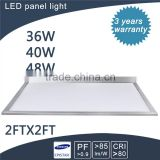2015 best new commercial led light panel 600x600 for meeting room/home