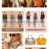 ecommerce website design for men clothing,women clothing