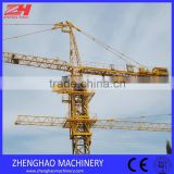 ZHENGHAO China manufacturer tower crane QTZ80(5613) with 56m jib length by JINKUI made in China