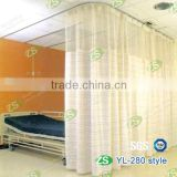 100 % polyester antibacterial medical curtain