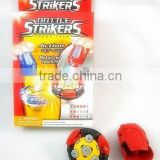 2011HOT SALES!!! B/O (BATTERY OPERATED) BATTLE TOPS/THE BATTLE STRIKERS ,SPINNING TOP,50% shipping off,Item #202950
