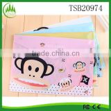 Eco Cotton File Paper Bills Receipts Documents Holder A4 file organizer bag