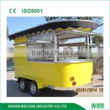 Practical Mobile Vending outdoor coffee cart WK300