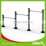 Public Park Used Outdoor Simple Fitness Equipment Uneven Bars to Bounce and Press