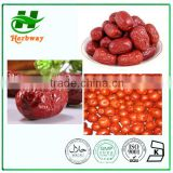Chinese Date extract or Ziziphus jujube extract Powder with 80% Polysaccharide