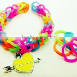 Supply DIY Silicone loom bands bracelet