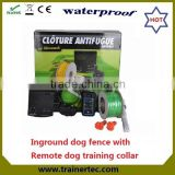 In ground pet fencing system 023 & 300 meter remote dog trainer                                                                         Quality Choice