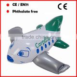 Promotional inflatable cute airplanes custom printing for kids