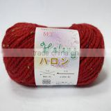 3/5NM 52% ACRYLIC 10% ALPACA 20% WOOL 15% NYLON 3% NEP BLENDED YARN, DYED YAN , HAND KNITTING YARN, NEP YARN